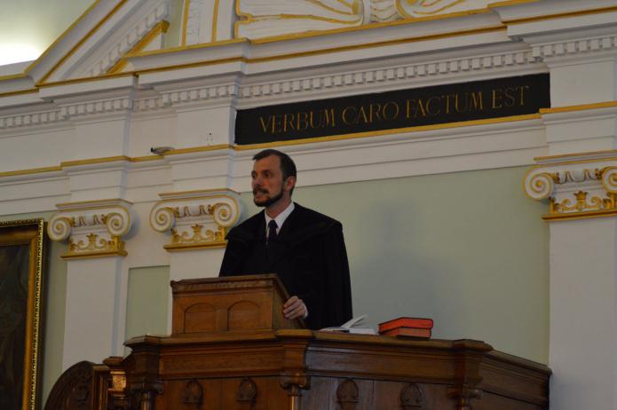 Évnyitó ünnepély liturgusa Dr. Papp György