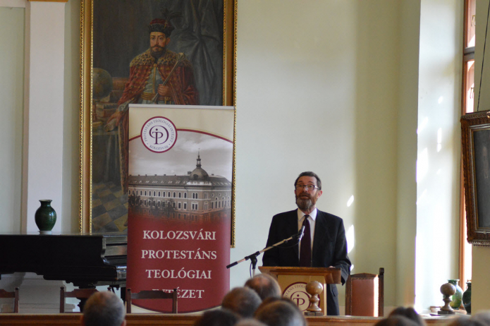 Reformáció és teológia címmel tart előadást Buzogány Dezső