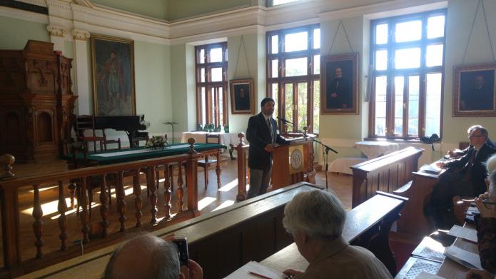 Tőkés Attila hollandiai tanulmányairól beszél