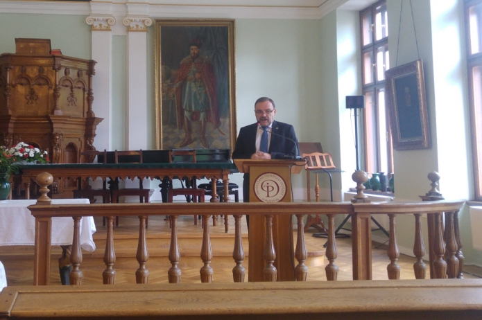 Fazakas Sándor (DRHE) előadása