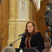 Kovács Zsuzsa teológiai hallgató