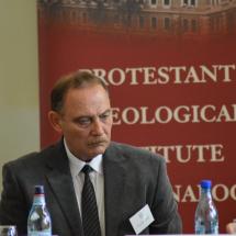 Kállay Dezső, a Protestáns Teológiai Intézet rektora