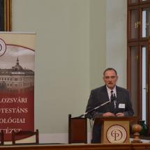 A konferenciát zárja Kállay Dezső rektor