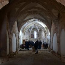 A boroskrakkói templom belseje