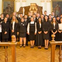 26 új arc a Teológiai Intézetben és évfolyamfelelős tanáruk