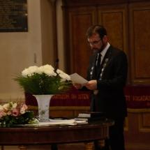 Évnyitó beszédet mond Kolumbán Vilmos József rektor