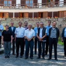 A 2020. június 22. illyefalvi megbeszélés résztvevői